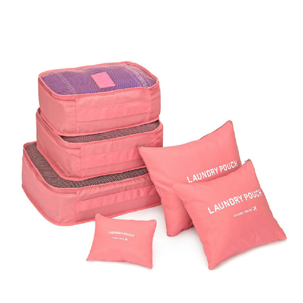Местный запас 6 шт. водонепроницаемые дорожные сумки одежда чемодан Органайзер сумка Упаковка распродажа