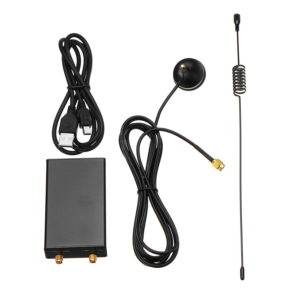 Ham Radio Receiver 100KHz-1.7GHz Full Band UV HF RTL-SDR USB Tuner Receiver
