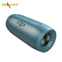ZEALOT S16 Wireless Portable Speaker Column 3D Stereo Bluetooth Speaker Bass Subwoofer Speakers with Mic Support TF Card,AUX