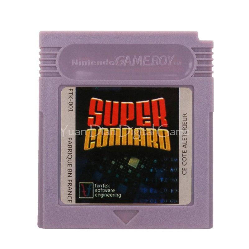 For Nintendo GBC Video Game Cartridge Console Card Super Connard English Language Version 1