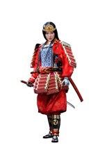 Poptoys EX024 A japonês genpei heroína tomoe gozen com armadura de metal 1/6 figura versão padrão