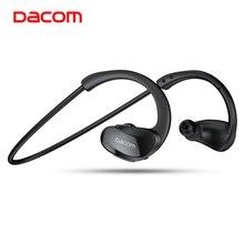Dacom ספורטאי ספורט אלחוטי אוזניות IPX5 עמיד למים Bluetooth אוזניות ריצת אוזניות ראש אוזן טלפונים עם דיבורית מיקרופון