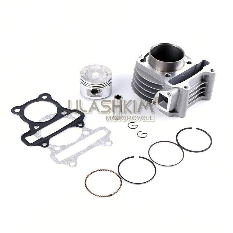 80cc Piston /& Ring Kit 47mm Moped Scooter Gy6 139QMB 4 Stroke