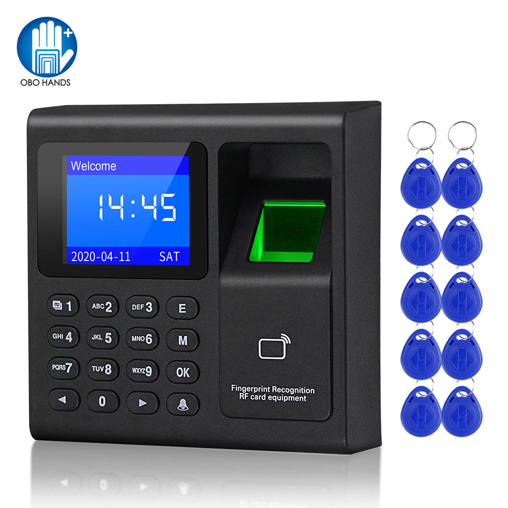Attendance-Machine Access-Control-Keypad-System Usb-Time-Clock-Recorder Biometric Fingerprint