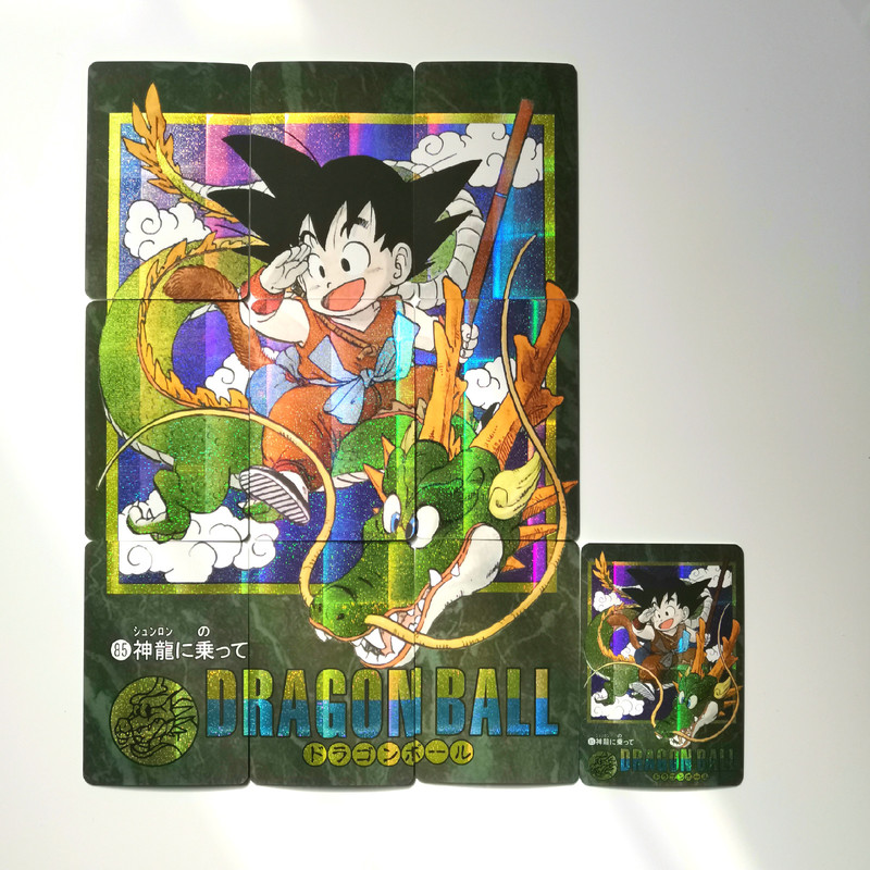 10pcs/set Dragon Ball Super Heroes Battle Card Ultra Instinct Goku Game Collection Cards 9 In 1 Free Shipping