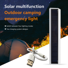 LED Solar Lamps Camping Light Multi-function Emergency Light Portable Outdoor Lighting Campfire 4 Lighting Modes IP65 Waterproof cheap oobest Campfire LED Multifunction Portable Solar energy 3 years ROHS Solar Lamps emergency light 3 7V None LED Bulbs Modern