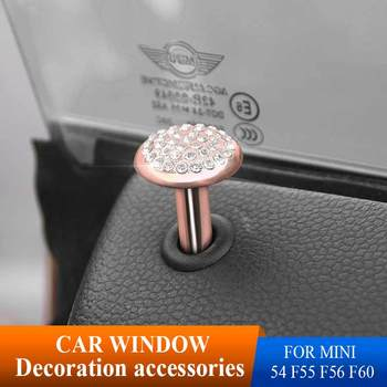 gift high quality car zinc alloy key holder cover bag case ring for bmw mini cooper one fun f54 f55 f56 r56 r57 r58 r59 r60 r61 Car Styling Door Pin Lock Emblem Badge stikcers Drill Decorative For BMW Mini Cooper R56 R50 R53 F56 F55 R60 R57 F54 F55 F56