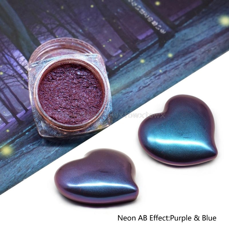 Mirror Pearl Powder Epoxy Resin Glitter Chameleon Pigment Resin Pearl Color Paints Au17 19 Dropship