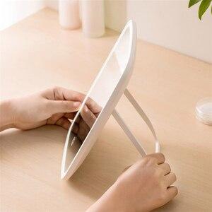 Image 4 - Original youpin inteligente led portátil espelho de maquiagem desktop luz led portátil dobrável espelho dormitório desktop