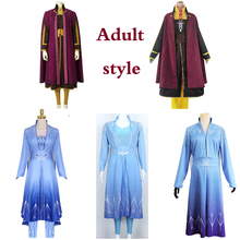 New Frozen 2 Elsa Anna Cosplay Adult Costume Halloween