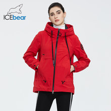ICEbear 2020 Women jacket with a hood stylish casual women jacket women spring clothes brand clothing GWC2023D(China)
