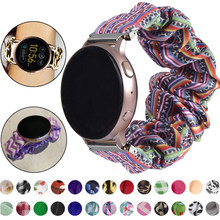 Bracelet élastique en nylon, pour Samsung Galaxy gear s3 Watch 3 46mm 42mm, pour Amazfit bip Galaxy Active 2, 18mm 22mm 20mm