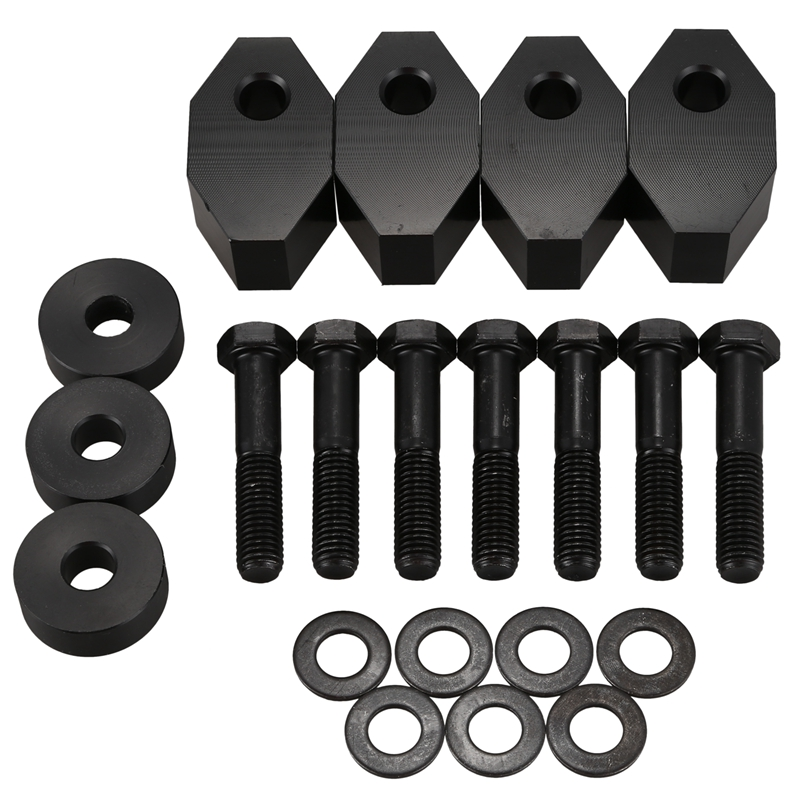 i-Shop Black Rear Seat Recline Kit with Bolts and Washers