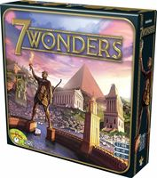 7 Wonders Core Base Set Board Game Ancient World Strategy Build Military Fun Family Card Game