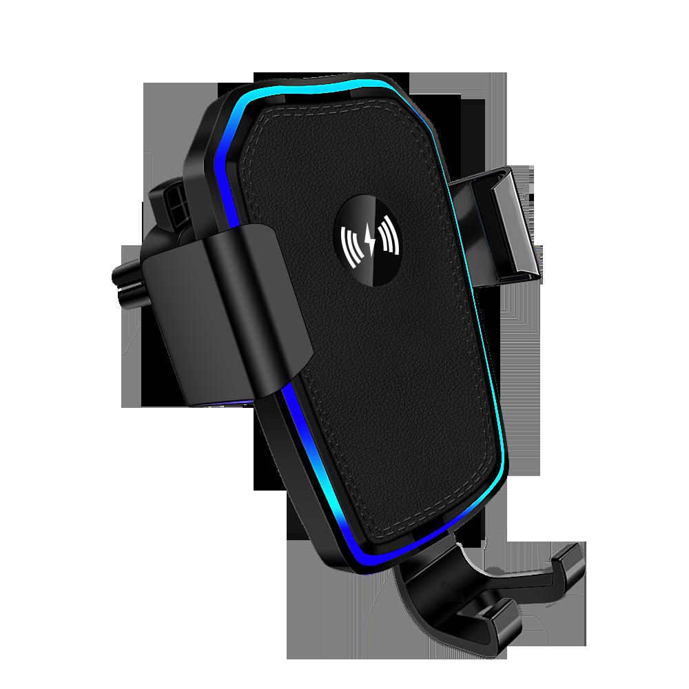 Suporte do telefone do carro móvel para o suporte do telefone do carro suporte fixo constante suporte gravidade sensing aperto automático de carregamento sem fio