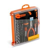 Jakemy JM-6115 60 1 정밀 가정용 diy 수리 도구 cr-v 래칫 소켓 스크루 드라이버 아이폰 수리 도구에 대한 설정
