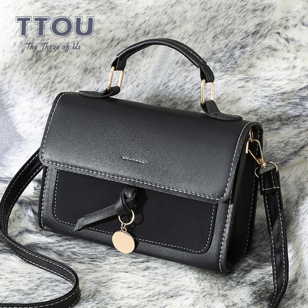 Fashion Design PU Leather Women Shoulder Bag High Street Quality Flap Ladies Office Messenger Casual  Female Travel Top-handbag