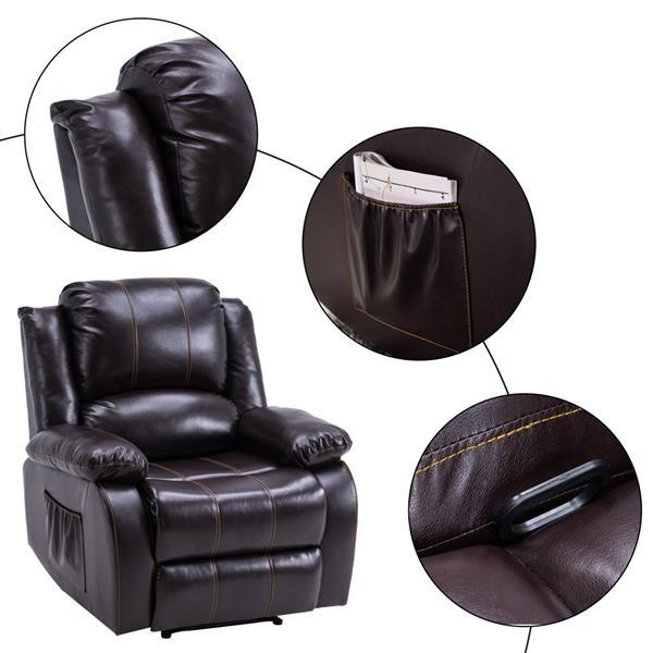 91 x 95 x 10)cm Recliner Style Function Chair  6