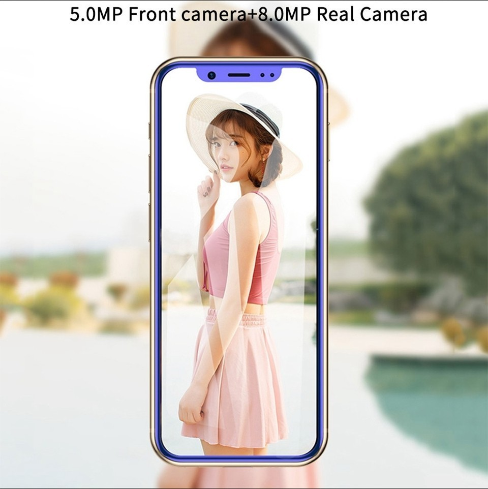 I9 pequeño teléfono inteligente 4G LTE 3,5 Mtk6739 Quad Core Android 8,1 2GB de RAM + 16GM/32GB Rom 8.0MP de Bolsillo GPS Mini teléfono Android - 5