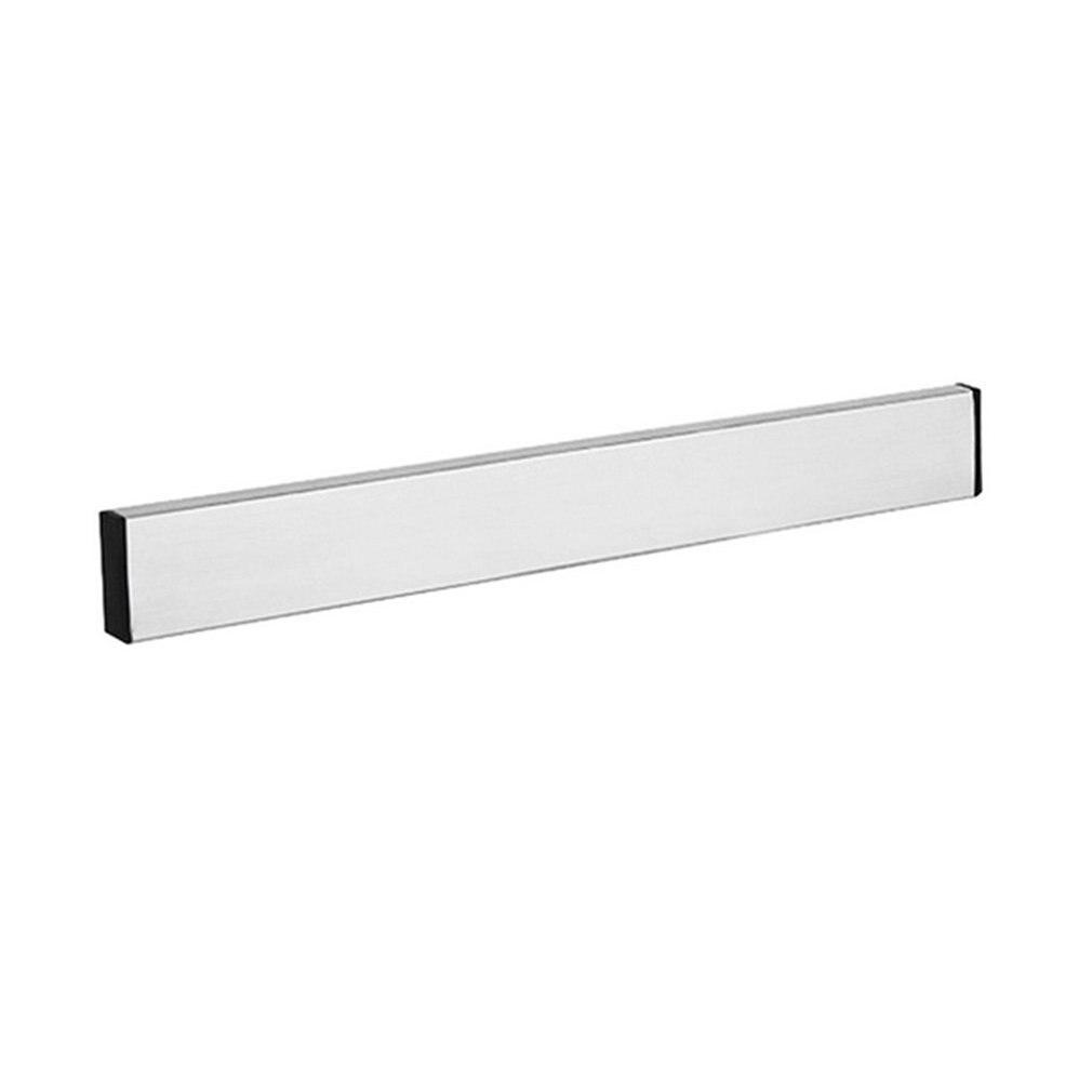 Magnetic Knife Holder Wall Mount Silver 304 Stainless Steel Block Magnet Knife Holder For Metal Knife