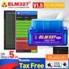 OBD2 Super Mini ELM327 V1.5 PIC18F25K80 Chip elm 327 Bluetooth V2.1 code reader Auto Scanner Adapter Diagnostic Tool for Android 1