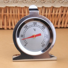 Oven Thermometer Cooking Thermometer Grill Thermometer Adjustable Hanging Thermomer Stainless Steel 0 100 degree length 10 cm bimetallic thermometer wss 411 stainless steel disc industrial boiler thermometer radial
