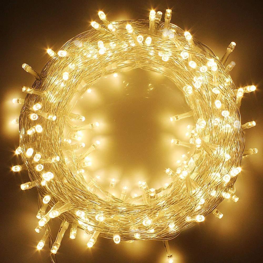 800 leds 100M Led chaîne lumière 220V étanche noël extérieur/intérieur guirlande lumières pour noël mariage fête vacances décoration