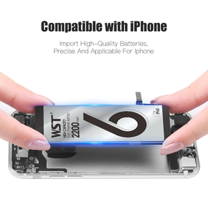 Image 5 - WST オリジナルバッテリー apple の iphone 6S のための高容量 2200 2800mah の交換用電池 iPhone6S 送料無料でツールステッカー