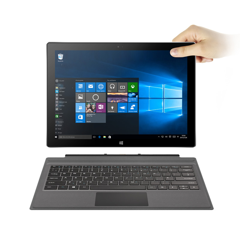 12.6inch 2880*1920 VOYO I7 Plus 2 In 1 Tablet PC Win10 Intel 7th Core I7-3865U 8G 256G SSD / 16G 512G SSD Dual Camera HDMI