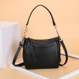 Image 2 - Crossbody Bags For Women Soft Leather Handbags Vintage Women Shoulder Messenger Bags Designer Sac Top handle Bag Bolsas Feminina