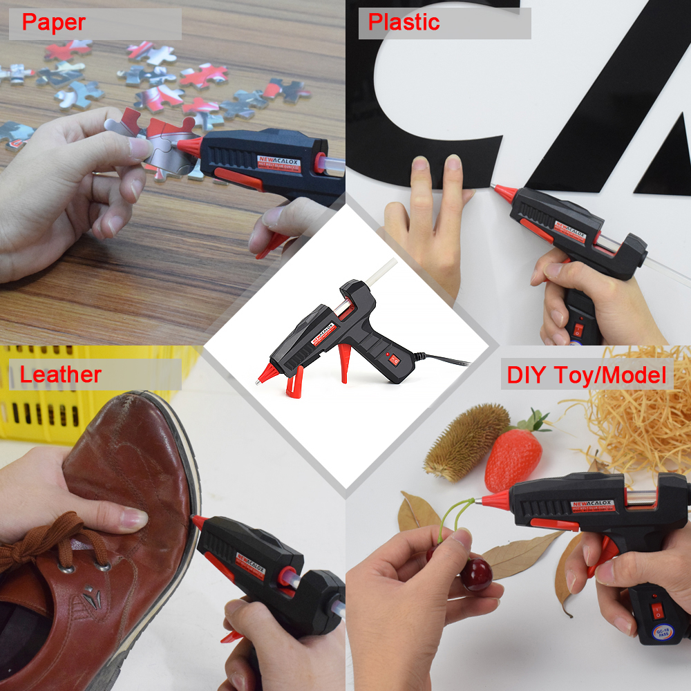 NEWACALOX Mini Hot Glue Gun for All Bonding Jobs of Any Office and House 4