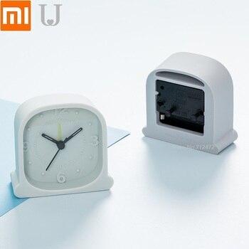 For Xiaomi JordanJudy Silent alarm Fashion silicone clock Creative Bedroom bedside multifunctional electronic clock