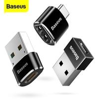 Baseus USB Typ C OTG Adapter USB C Männlich Zu Micro USB Weibliche Kabel Konverter Für Macbook Samsung S10 Huawei USB Zu Typ-c OTG