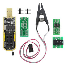 SOP8 SOIC8 Test Clip for EEPROM 25CXX / 24CXX with CH341A 24 25 Series EEPROM Flash Bios USB Programmer(China)
