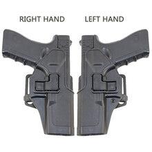 Тактическая кобура для страйкбольного пистолета, кобура для пистолета Glock 17 18 19 22 26, чехол для левой и правой руки, аксессуары для охоты