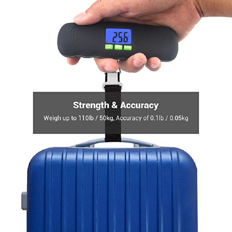 50kg Digital Travel Fish Luggage Postal Hook Electronic Weighing Scale BEST