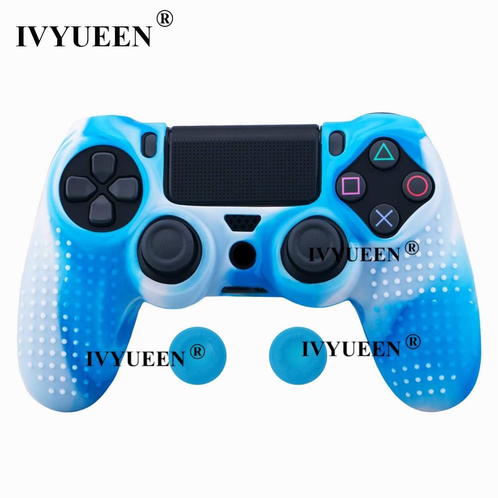 for Sony PlayStation dualshock 4 ps4 pro slim controller silicone case skin 09
