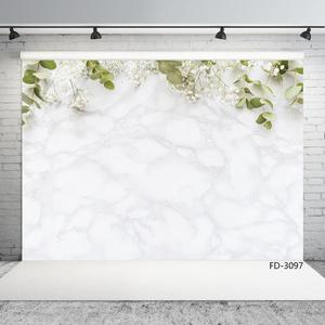 Image 2 - Snow White Flowers Photography Backdrop Vinyl Cloth Photobooth Background Studio for Children Baby Portrait Photocall Fond Photo