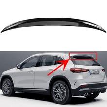 Alerón negro para parachoques trasero y maletero, para Mercedes Benz GLA180, GLA200, GLA220, GLA250, GLA35, GLA45, línea AMG H247, 2013-2019