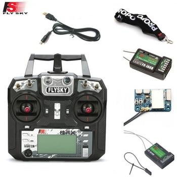 FLYSKY FS-i6X FS i6X 10CH 2.4GHz AFHDS 2A RC Transmitter With X6B iA6B A8S iA10B iA6 Receiver for RC FPV Racing Drone Retailbox приемник flysky fs a8s ppm i bus sbus afhds