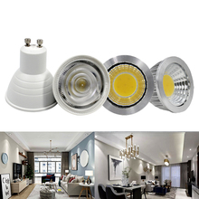 LED Spotlight Bulb COB MR16 3W 5W 6W 12V Lamp GU10 220V Lampada warm white cold Bombillas Home Lighting
