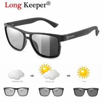 New Polarized Photochromic Sunglasses Men Driving Chameleon Glasses Male Day Night Vision Driver Goggles Lentes Sol Hombre