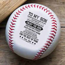 Dad To Son, Be The Man I Know You Can Be Baseball Ball семена индау рукола культурная покер 1 г