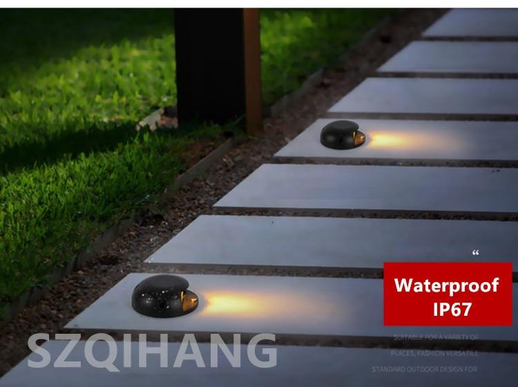 deck led montagem em superfície inground lâmpadas led luz subterrânea