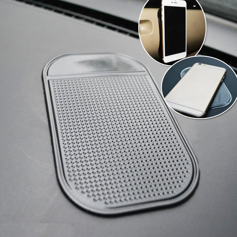 5 шт., проданы нащего завода 13*7 см Анти-скольжения прокладки для хранения авто липкий силиконовый коврик для оформления интерьера вашего авт...