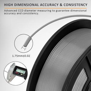 Image 3 - PETG Filament 1kg 1.75mm Tolerance 0.02mm FDM 3D Printer Material with Spool High Strength Non toxic 100% No Bubble Filaments