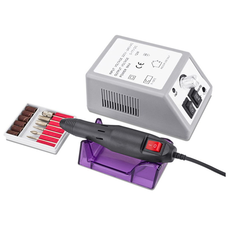 Professional Electric Nail Drill Machine Kit Manicure Machine Nail Art Pen Pedicure Nail File Nail Art Tools Kit in Electric Manicure Drills from Beauty Health