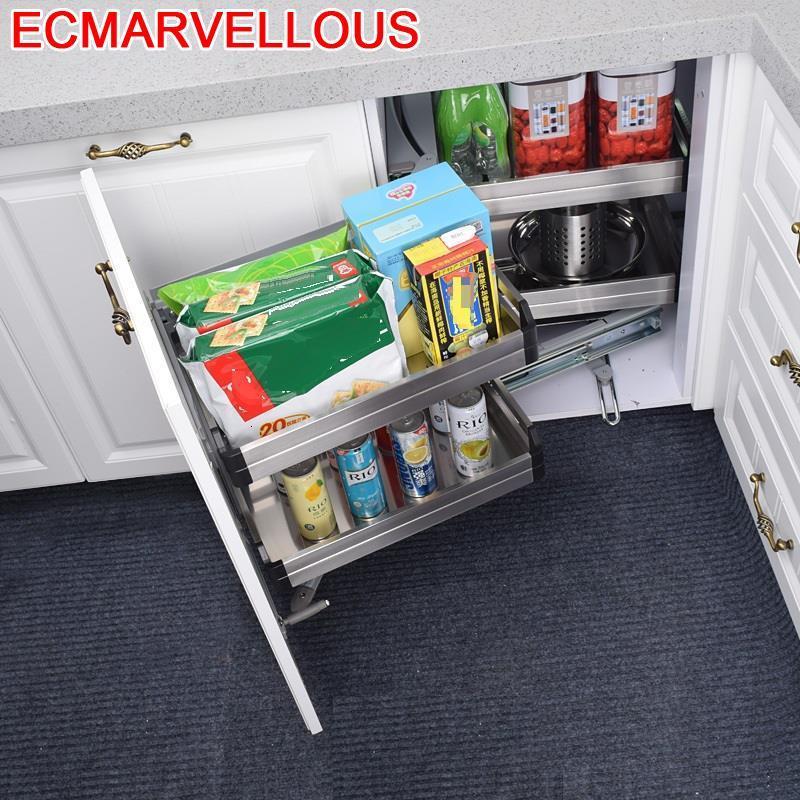 Almacenaje Armario Platos Cestas Para Colgar En La Ducha Stainless Steel Cocina Organizer Cozinha Kitchen Cabinet Storage Basket