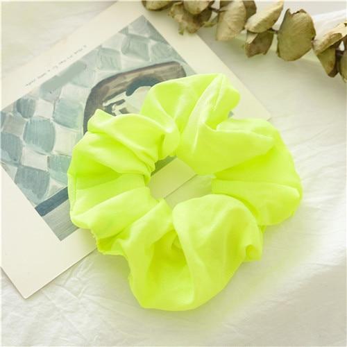 Корейский женский ободок для волос для девочек, полосатые женские резинки для волос, конский хвост, Женский держатель, веревка с ананасовым принтом, аксессуары для волос - Цвет: f1