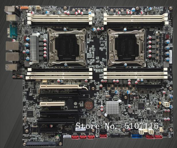 High quality desktop motherboard for P700 <font><b>X99</b></font> 00FC855 P710 Dual Workstation Motherboard will test before shipping image